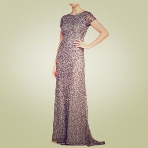 Adrianna Papell Formal Sequin Gown